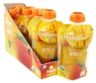 HappyFamily - HappyBaby Organic Clearly Crafted Stage 1 Baby Food 4+ Months Mangos - 3.5 oz.
