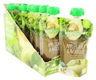 HappyFamily - HappyBaby Organic Clearly Crafted Stage 2 Baby Food 6+ Months Apples, Kale, and Avocados - 4 oz.