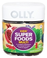 Olly - Kids Super Foods Multi Go Go Grape - 60 Gummies