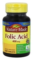 Nature Made - Folic Acid 400 mcg. - 250 Tablets
