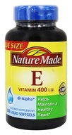 Nature Made - Vitamin E dl-Alpha 400 IU - 300 Liquid Softgels