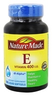 Nature Made - Vitamin E dl-Alpha 400 IU - 180 Liquid Softgels