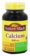 Nature Made - Calcium 500 mg. - 130 Tablets