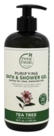 Petal Fresh - Bath & Shower Gel Purifying Tea Tree - 16 oz.