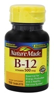 Nature Made - Vitamin B12 500 mcg. - 100 Tablets