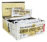 Thunderbird Energetica - Gluten Free Raw Energy Bars Box Almond Cookie Pow Wow - 15 Bars