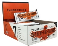 Thunderbird Energetica - Gluten Free Raw Energy Bars Box Cashew Fig Carrot - 15 Bars