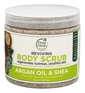 Petal Fresh - Body Scrub Reviving Argan Oil & Shea - 16 oz.