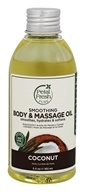Petal Fresh - Body & Massage Oil Smoothing Coconut - 5.5 oz.