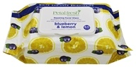 Petal Fresh - White Radiance Brightening Facial Wipes Blueberry & Lemon - 60 Wipe(s)