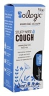 Oilogic - Stuffy Nose and Cough Essential Oil Roll On - 0.45 oz.