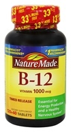 Nature Made - Vitamin B12 Timed Release 1000 mcg. - 160 Tablets