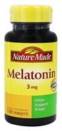 Nature Made - Melatonin 3 mg. - 120 Tablets
