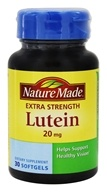 Nature Made - Lutein Extra Strength 20 mg. - 30 Softgels