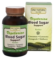 Only Natural - Vegetarian Blood Sugar Support - 60 Vegetarian Capsules