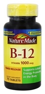 Nature Made - Vitamin B12 Timed Release 1000 mcg. - 75 Tablets