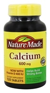 Nature Made - Calcium 600 mg. - 120 Tablets