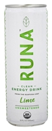 Runa - Clean Energy Drink Original with Lime - 12 oz.