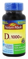 Nature Made - Vitamin D3 1000 IU - 100 Liquid Softgels
