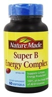Nature Made - Super B Energy Complex - 60 Softgels