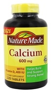 Nature Made - Calcium 600 mg. - 220 Tablets