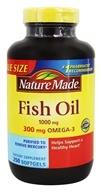 Nature Made - Fish Oil 1000 mg. - 250 Liquid Softgels