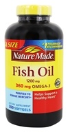 Nature Made - Fish Oil 1200 mg. - 300 Liquid Softgels