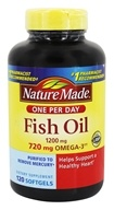 Nature Made - Fish Oil One Per Day 1200 mg. - 120 Liquid Softgels