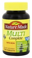 Nature Made - Multi Complete with Iron - 130 Tablets