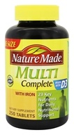 Nature Made - Multi Complete with Iron - 250 Tablets