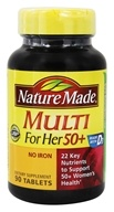 Nature Made - Multi for Her 50+ - 90 Tablets