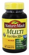 Nature Made - Multi for Him 50+ - 90 Tablets