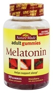 Nature Made - Melatonin Adult Gummies Strawberry - 90 Gummies