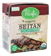 Pacific Natural Foods - Organic Seitan Italian Herb - 12 oz.
