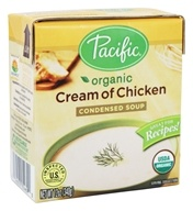Pacific Natural Foods - Organic Cream of Chicken Condensed Soup - 12 oz.