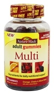 Nature Made - Multi Adult Gummies Orange, Cherry & Mixed Berry - 90 Gummies