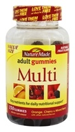 Nature Made - Multi Adult Gummies Orange, Cherry & Mixed Berry - 150 Gummies
