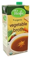 Pacific Natural Foods - Organic Vegetable Broth - 32 oz.