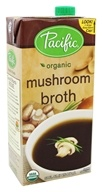 Pacific Natural Foods - Organic Mushroom Broth - 32 oz.