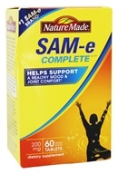 Nature Made - SAM-e Complete 200 mg. - 60 Tablets