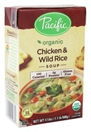 Pacific Natural Foods - Organic Chicken and Wild Rice Soup - 17.6 oz.