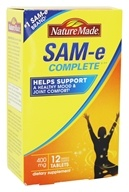 Nature Made - SAM-e Complete 400 mg. - 12 Tablets