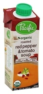 Organic Roasted Red Pepper and Tomato Soup - 8 fl. oz. by Pacific Foods
