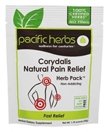 Pacific Herbs - Corydalis Natural Pain Relief Herb Pack - 1.75 oz.