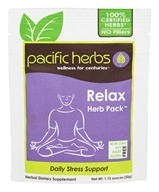 Pacific Herbs - Relax Herb Pack - 1.75 oz.