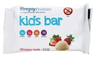 SimplyProtein - Kids Bar Strawberry Vanilla - 0.7 oz.