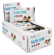 SimplyProtein - Kids Bar Strawberry Vanilla - 12 Bars