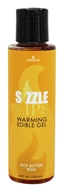 Sensuva - Sizzle Lips Warming Edible Gel Hot Butter Rum - 4.2 oz.