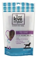I And Love And You - Free Ranger Bully Stix Dog Chews 6 inch - 5 Pack(s)