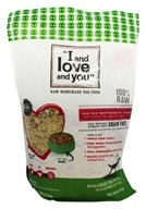 I And Love And You - Raw Raw Beef Boom Ba Dinner Dry Dog Food - 5.5 lbs.